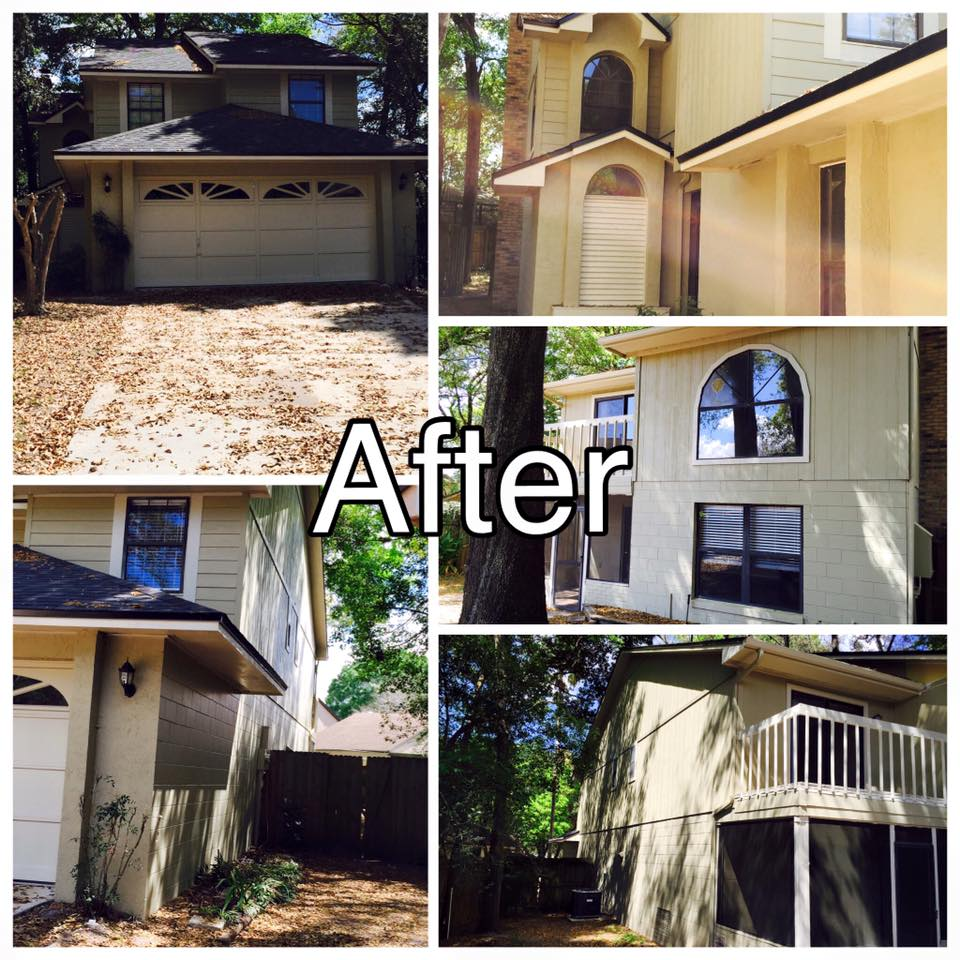 Residential Exterior Services: Exterior Residential Painting
