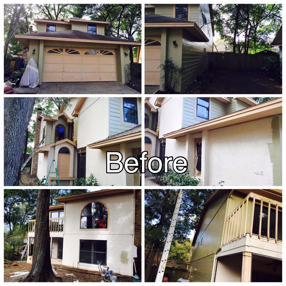 Residential Exterior Services: Protfolio Exterior Residential Painting